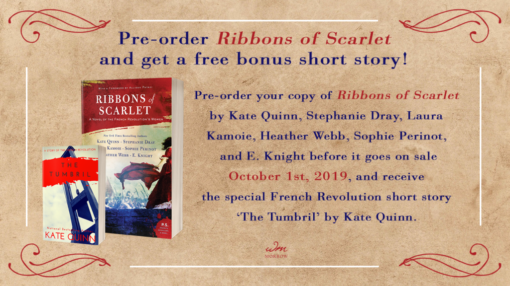 Preorder Ribbons of Scarlet and get a free bonus story!
